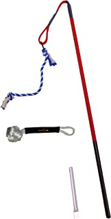 Tether Tug Big Knot Bundle - Outdoor Dog Tugging Toy with 2 Attachments!