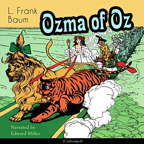 Ozma of Oz (The Oz Books 3) audiobook cover art