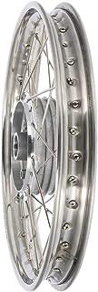 AKF Speichenrad 1,5 x 16'' Edelstahlfelge + Edelstahlspeichen   für Simson S50, S51, KR51 Schwalbe, SR4
