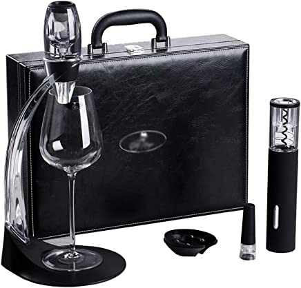 4ea5cbc70 SUBBYE Abridor De Vino Sacacorchos Vino Tinto Eléctrico Abrebotellas  Automático Juego Accesorios para Vino Abrelatas De