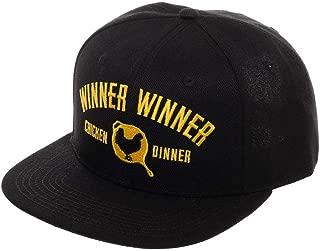 PUBG Winner Winner Winner Chicken Dinner Snapback Hat