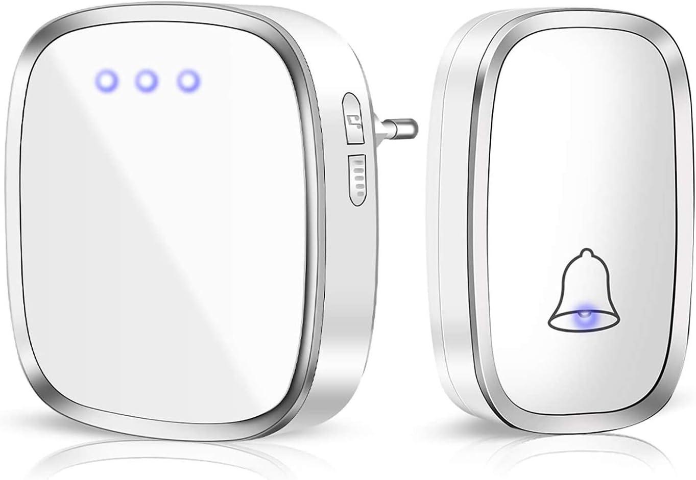 Miylim Wireless Doorbell Waterproof Door Bell Cor New sales Wall High order Plug-in