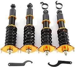 LianDu Coilover Suspension Lowering Kit Racing Coilover Coil Spring Strut Shocks Absorber Fit for 1990-2005 Mazda Miata MX-5 NA6 NA8 NB1 NB2 (US Stock)