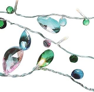 AceList 10 LED Imitation Crystal Gem Acrylic String Lights Battery for Decoration Party Wedding
