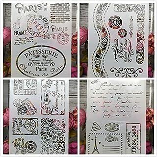 4 plantillas A4 con frases, cenefas, grecas, letras, flores tarjetas invitaciones Diarios, scrapbboking, libros recortes, tareas escolares, invitados, Diarios libros regalos.mil ideas de Chipyhome