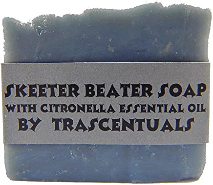 Skeeter Beater Soap with Citronella Essential Oil to Repel Mosquitoes Ticks and Other Biting Insect (