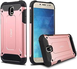 J&D Compatible para Galaxy J5 2017 Funda, [Armadura Delgada] [Doble Capa] [Protección Pesada] Híbrida Resistente Funda Protectora y Robusta para Samsung Galaxy J5 (Release in 2017) - [No para J5 2016]