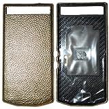 Blackberry 10252 PD Leder Batterie Door Tasche P`9982 Grain