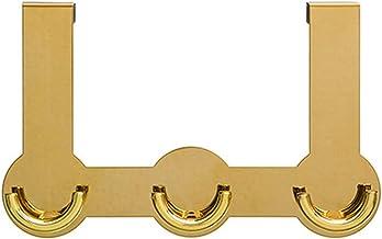 WanuigH Deurhaak 1 Stks Gouden Haken Metalen Haak Home Hotel Deur Terug Haak Sterk en Stevig (Kleur: Goud, Maat: 22X14cm)