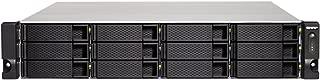 QNAP TS-1232XU-RP-4G-US 2U 12-Bay ARM-Based 10G NAS, Quad Core 1.7GHz, 4GB DDR3 RAM, 2 x 10GbE SFP+, 2 x GbE, Redundant Power Supply