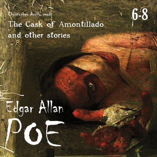Edgar Allan Poe Audiobook Collection 6-8 audiobook cover art