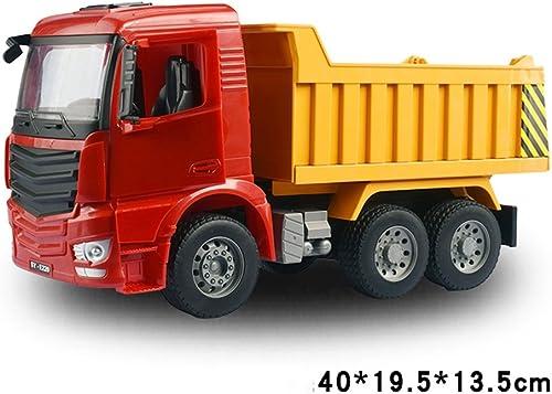 nuevo estilo Juguetes para Bebés FEI Juguete para para para Niños Toy Car Boy Crane Dump Truck Mixer Truck Model Set Temprano Educación (Color   A)  últimos estilos