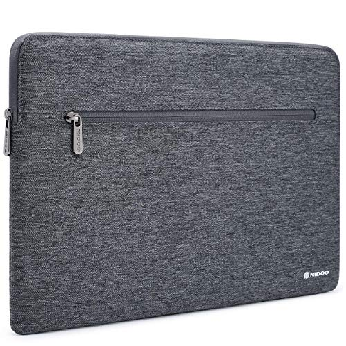 NIDOO 12.5-13.3 Inch Laptop Case Sleeve Notebook Bag Protective Cover for Lenovo Thinkpad X390 Yoga X395 C930 L390 L13 / 13.5' Surface Book 3 / Surface Laptop 2 3 / Asus ZenBook 14, Grey