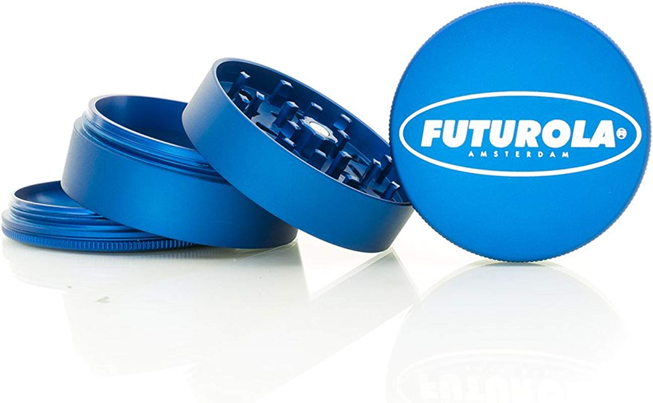 Futurola Shredder Large 4 Piece Metallic And Matte Collection Matte Sapphire Santa Cruz Shredder
