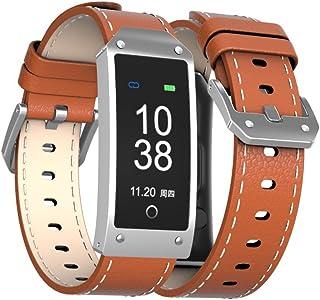 JIAYOUNX Fitness Tracker,Elegante Reloj De Pulsera De Monitor De Ritmo Cardiaco Gps Función Siri Sueño Fotos Remotos Bluetooth Música Encontrar Telefonos Alerta Meteorológica