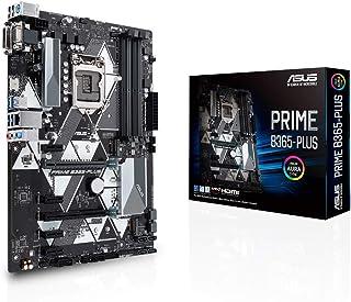 ASUS Prime B365-PLUS - Placa Base ATX Intel de 8a y 9a Gen. LGA1151 con Cabezal Aura Sync RGB, DDR4 2666MHz, Soporte M.2, HDMI, Soporte para Memoria Intel Optane, SATA 6Gbps