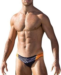 FONMA Fashion Men Breathable Pants Beach Stripe Running Swimming Underwear Trunks