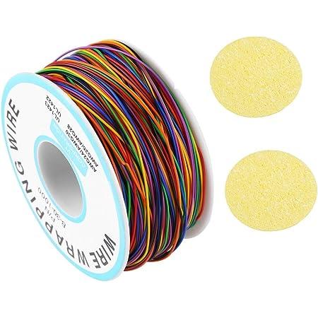 Kupferschalt Litze 10 Ringe Alle Farben 0 14 Mm Je Farbe Ein 10 Meter Ring Gewerbe Industrie Wissenschaft