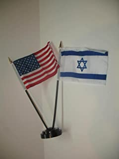 Best israel and american flag together Reviews