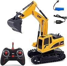 258-1 1/24 6CH 2.4G Multifunction Remote Control Excavator Engineering RC Car