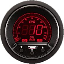 NEW Oil Pressure Gauge- Electrical Digital Green/white/red/blue Premium EVO Series 52mm (2 1/16)