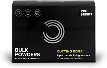BULK POWDERS Cutting Edge Capsules Thermogenic Supplement Pack of 180 Estimated Price : £ 31,99