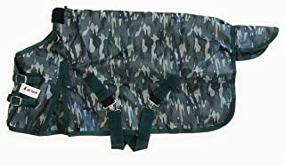 AJ Tack Miniature Horse Turnout Winter Blanket 1200D Waterproof 300g Medium Weight Camouflage
