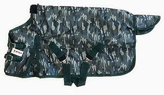 AJ Tack Miniature Horse Donkey Turnout Winter Blanket 1200D Waterproof 300g Medium Weight Camouflage