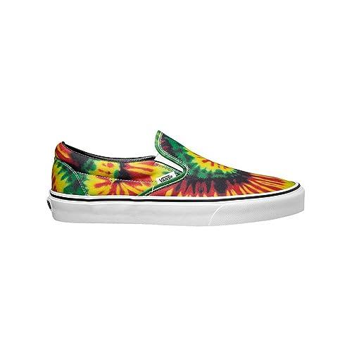 7b0907c500a0 Vans Tie Dye Classic Slip-on mens skateboarding-shoes VN-0ZMRFQ1 4