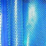 Cobertor Cubierta Fundas para Piscinas, Cubierta de Manta Solar para Spa y Jacuzzi, Manta de Retención de Calor para Piscinas Rectangulares Enterradas / Elevadas, 1m / 2m / 3m / 4m / 5m / 6m / 7m / 8m