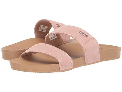 Reef Cushion Bounce Vista Suede (Dusty Pink) Women
