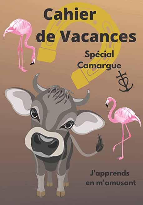 Cahier de Vacances spécial Camargue j'apprends en m'amusant: Un livre différent pour apprendre en s'amusant l'enfant progresse sans s'énerver à son ... Format pratique couverture brillante souple