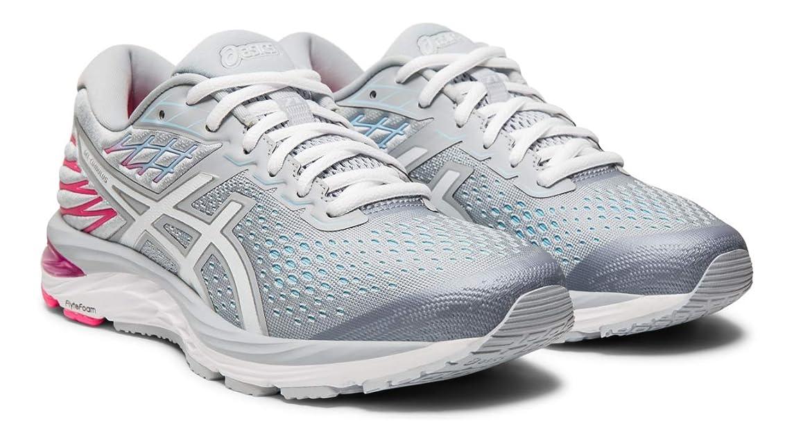 ASICS Gel-Cumulus 21 Women's Running Shoe, Piedmont Grey/White, 6 M US