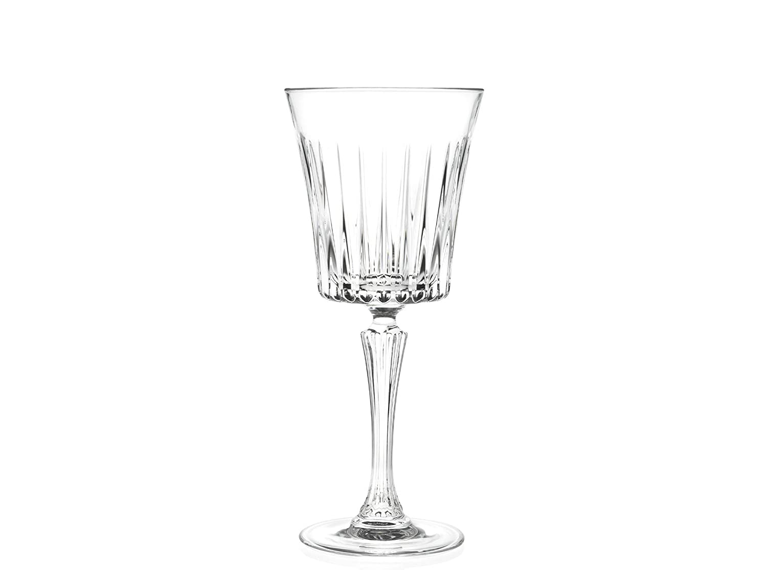 6 Glasses Crystal for Red Manufacturer direct delivery an White Concorde cl Wine 22 Service - Daily bargain sale
