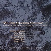 We, Like Salangan Swallows...
