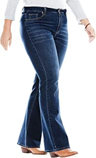 aa499e6ffcc Woman Within Plus Size Tall Perfect Bootcut Jean