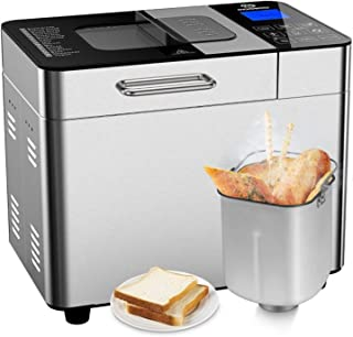 Bread Maker with Automatic Fruit Dispenser, MOOSOO...