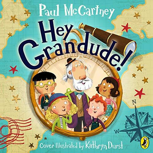 Hey Grandude! audiobook cover art