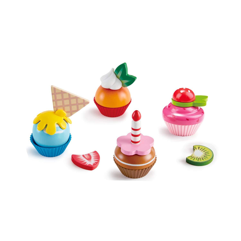 Hape E3157Cupcakes Play 18Piece Multicolor