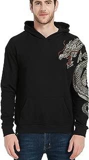 Men's Embroidered Hoodie Sweatshirt Unisex Pullover