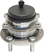 Wheel Hub and Bearing compatible with 2007-2016 Hyundai Santa Fe Rear Left or Right FWD With ABS Sensor Studs