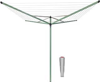 Brabantia 290367 Séchoir, Acier Inoxydable, Vert Feuille, 50m