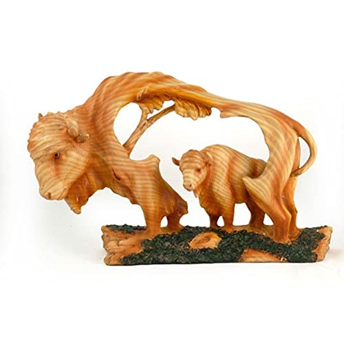 Wood carvings of animals amazon