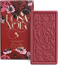 Mor Soap Triple Milled Soap Natural Soap for Women, Luxury Soaps Wrapped and Bath Soap for Women, Mor Rose Noir Aroma 180gram /6.4 ounce