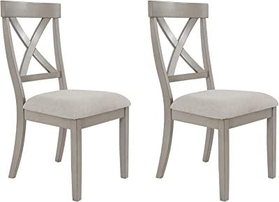 Signature Design by Ashley Parellen Dining Room Chair, Gray