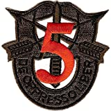 5th Special Forces Group Crest OD Green Red 5...