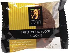 Byron Bay Cookies, Triple Chocolate Fudge, 2.1-Ounce Packages (Pack of 12)