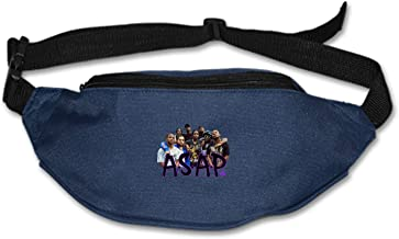 Greicmn Travel Fanny Bag Failure Isn't Failing Waist Pack Sling Pocket Super Lightweight for Travel