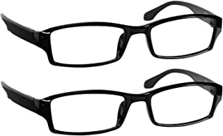 Reading Glasses - Readers with Comfort Spring Hinges for Men and Women by TruVision Readers - 9501HP -2 Packs