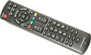 Best Panasonic N2QAYB000485 Remote Control Compatible with select Panasonic Models, Black Review